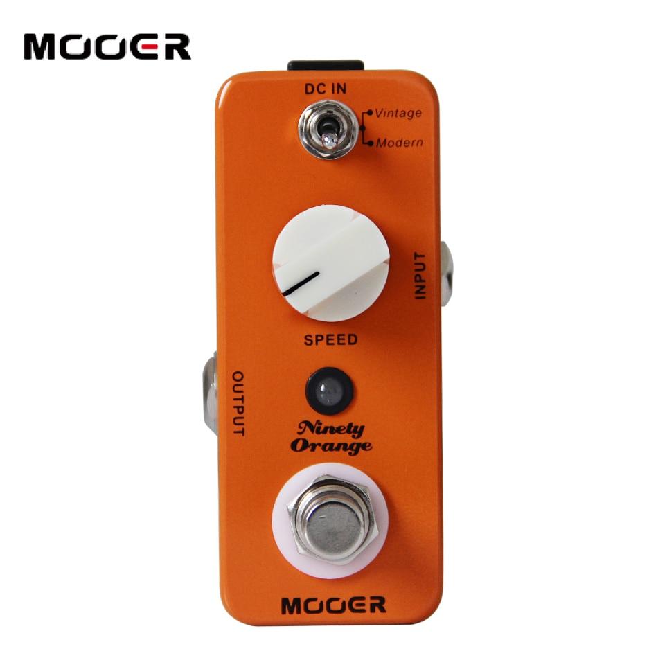 NEW Effect Guitar Pedal/MOOER Ninety Orange pdeal/Effects Modes: 2 (Vintage, Modern)