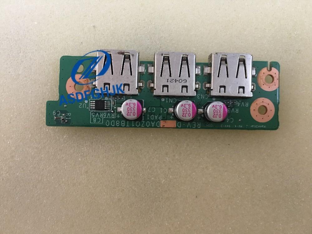 Para Acer Aspire 4820TG Puerto USB Junta DA0ZQ1TB8D0 33ZQ1UB0000