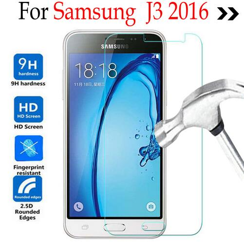 For Samsung Galaxy J3 2016 J320 Tempered glass Screen Protector Cover On Samsung j3 6/J320/J320F/J32