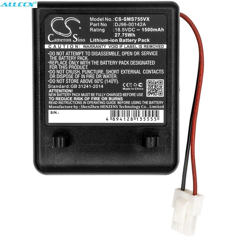 Cameron Sino 1500mAh batería de la batería DJ96-00142A... DJ96-00142B para Samsung SS7550... SS7550m... SS7555... SSR200