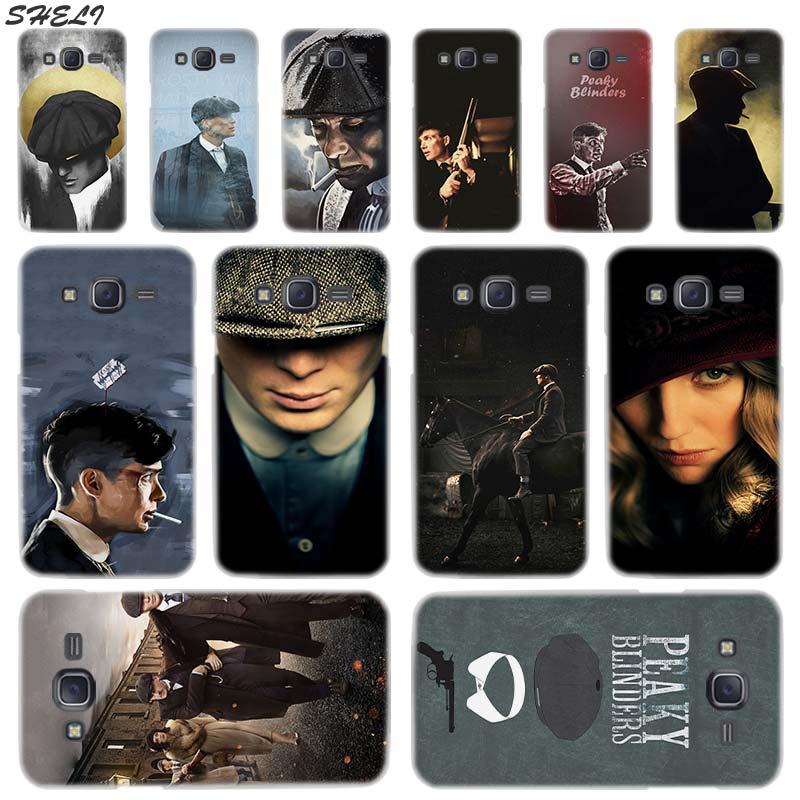 Sheli Peaky Blinders transparente caja del teléfono duro para Samsung J1 J2 J3 J4 J5 J6 J7 J8 2015, 2016, 2017, 2018 J7 primer j4 más Ace