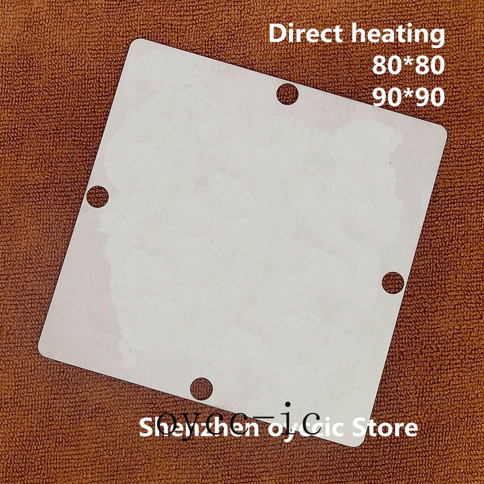 Calefacción directa 80*80 90*90 BCM3549VSKFS BCM3549VSKFSB BCM3549VMKFSB5G BCM3549VSKFSB5G BCM3549 BGA Stencil plantilla