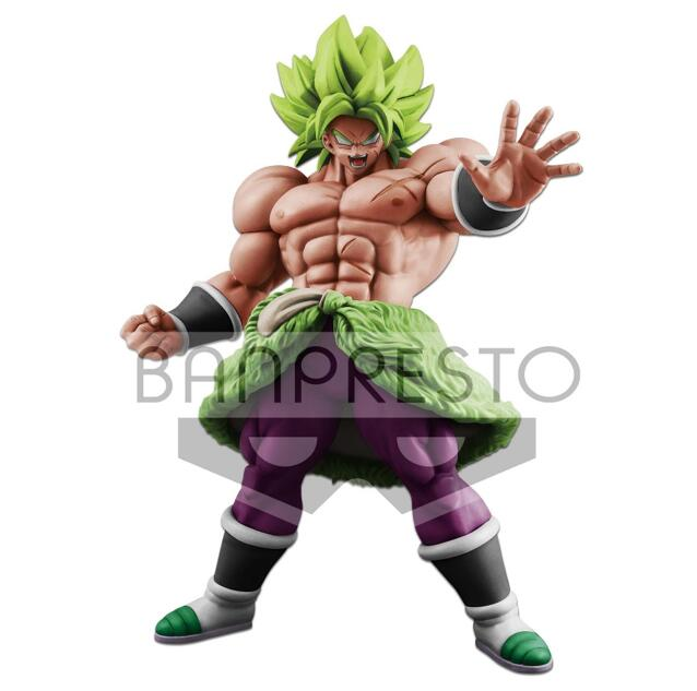 Grande figurine originale Banpresto Dragon Ball Super Saiyan Broly Broli PVC Figure modèle jouets film Borly Figurines