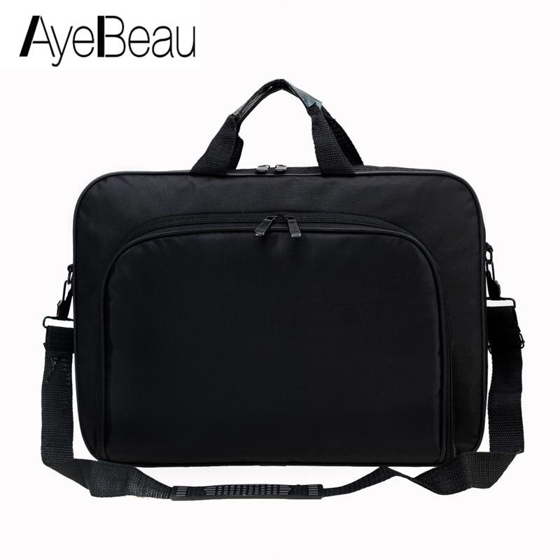 Portable travail main affaires bureau mâle sac de messager hommes mallette pour Document ordinateur Portable sac à main épaule 15.6 tablette PC