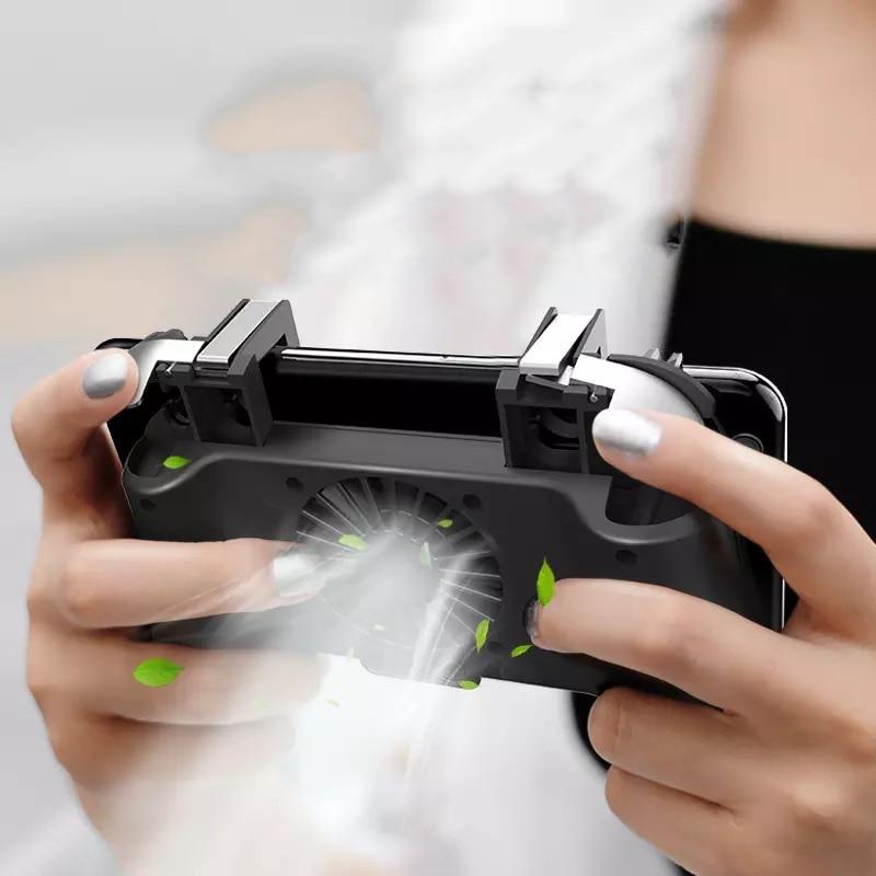 PUBG, controlador de juegos móvil, disparador de Gamepad, botón de objetivo L1R1, Joystick tirador para IPhone, teléfono Android, para Accesorios de almohadilla de juego