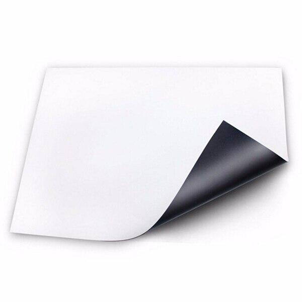 Hot Flexible Size A3 Magnetic Whiteboard Fridge Kitchen Home Office Reminder Magnet Dry-erase Board White Boards Sale LXY9 DE17
