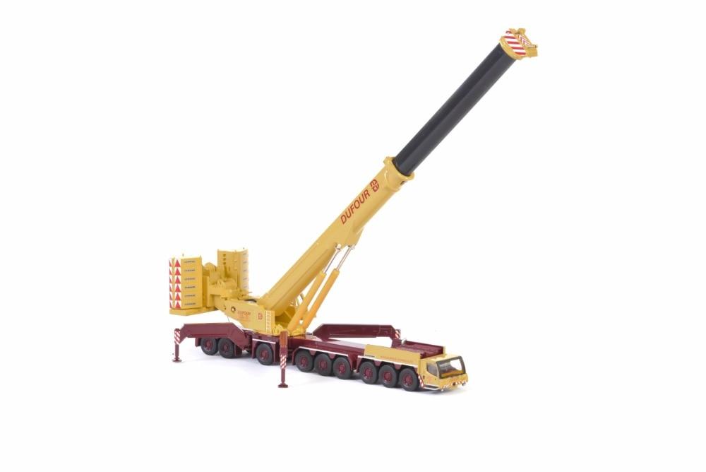 Modelo de juguete WSI 1 87 liebherrl LTM1750 grúa todoterreno Dufour Group maquinaria de ingeniería 71-2025 para regalo, colección