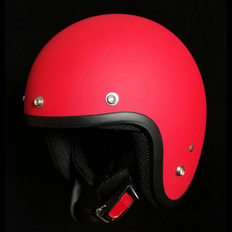 Мотоциклетный шлем VCOROS, винтажный мотоциклетный шлем в стиле ретро для мотоциклов