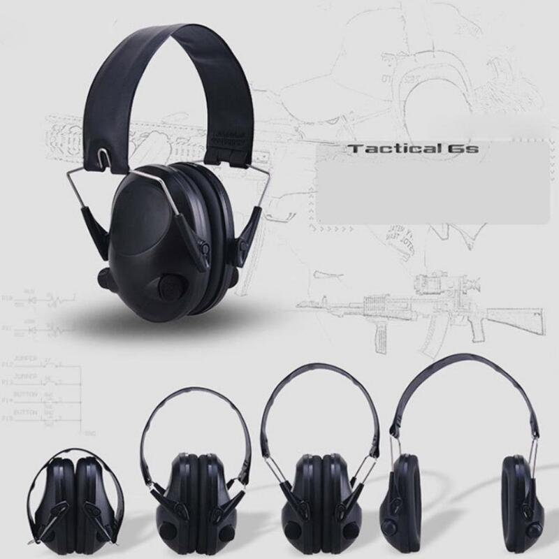 Protección Electrónica táctica para la oreja, protección para la caza, protección para la oreja, protección contra el ruido, auriculares para la caza