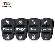 Dandkey coque de rechange pour Hyundai l10 l20 l30 Kia K2 K5 PRIDE BONgo RNY PORTER   Boîtier pour clé à distance tampon en caoutchouc 3 boutons