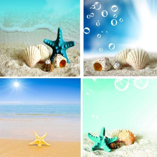 4 Peiece большой размер картины маслом Морской пейзаж холст печать картины пейзаж море пляж настенные картины для гостиных