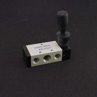 """5 maneira 2 posição 1/4 """"bspt alavanca de mão operado válvula pneumática 4h210-08x1"""