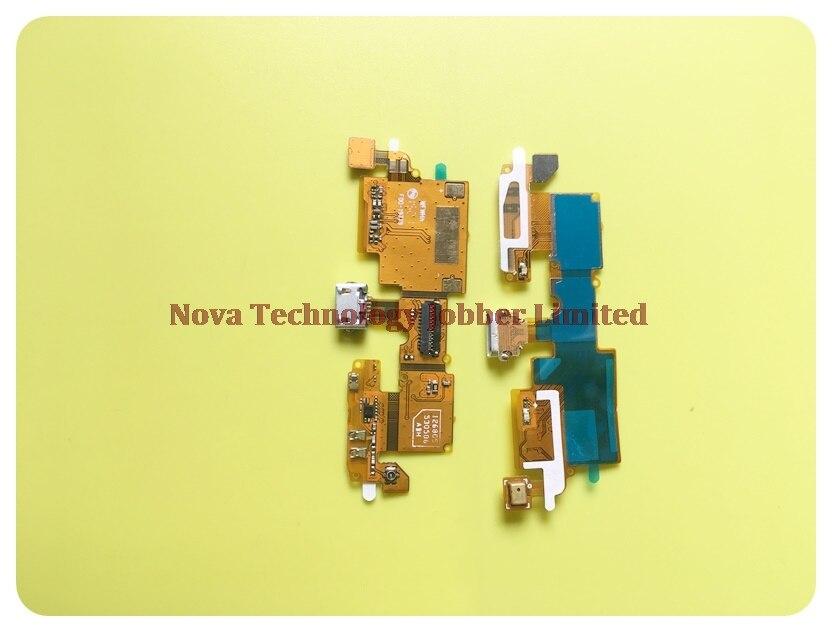 Puerto del cargador del cinta reemplazo para ZTE Blade V6 X7 D6 Z7 T660 USB de carga cable flexible de micrófono + número de seguimiento