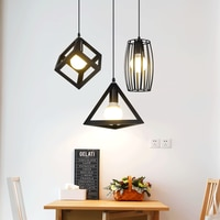 Modern Pendant Lights Minimalist Restaurant Lamps North American Industrial Pendant Lamp Dining room Decoration Lghting LED lamp
