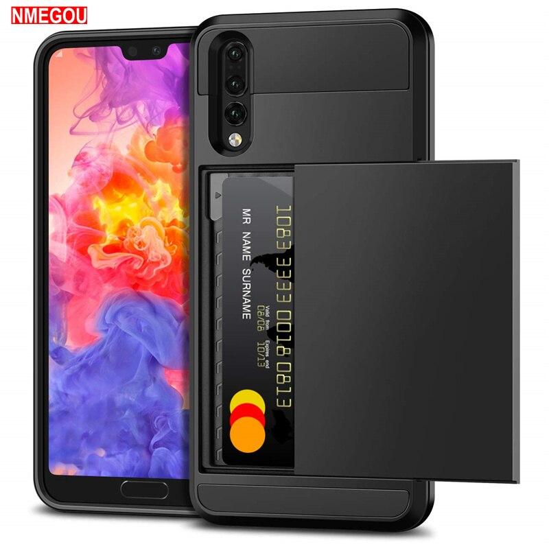 Защитный чехол-бумажник для телефона Huawei P20 Lite, P30 Pro, Mate 10 Lite, P Smart, Honor 7x7, 6, 2019