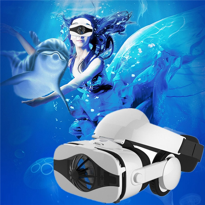 Gafas de realidad Virtual 2020 VR con auriculares, gafas de realidad Virtual...