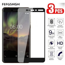 For Nokia 5.1 Tempered Glass For Nokia 5.1 Glass 9H Full Cover Screen Protector for Nokia 5.1 2018 P