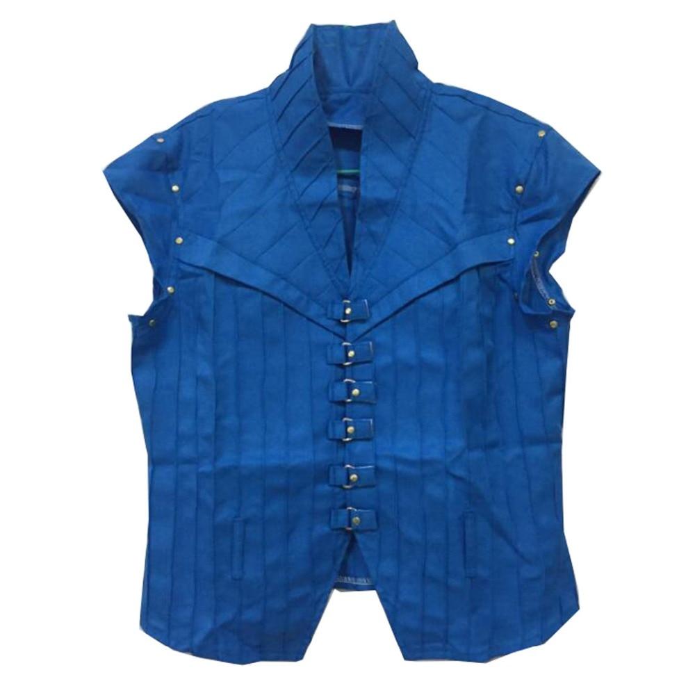 2019 Tangled Flynn disfraz de jinete Cosplay solo chaleco tres estilos para elegir