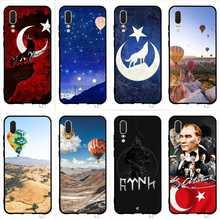 Противоударный чехол для телефона с флагом Турции для Huawei P8 Lite, чехол P20 Pro P10 P9 Mini P Smart Mate 10 20, задняя крышка