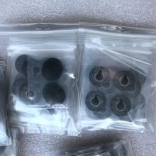 100 zestaw lots-4pc/zestaw dolnej obudowy czarny gumowy podnóżek stojak na notebooka laptopa stóp podstawa dla Macbook Pro Retina A1398 a1425 A1502