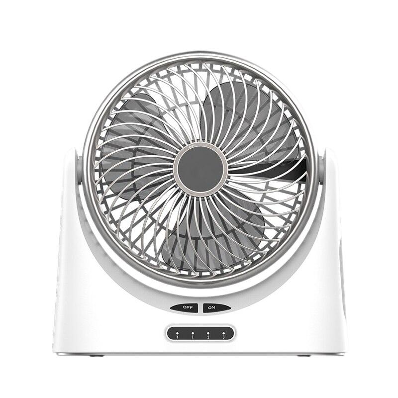 Ventilador de escritorio Usb pequeño ventilador circulador de aire Personal mesa eléctrica portátil ventilador de escritorio ventiladores de viaje recargables para la oficina de Camping