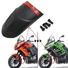 Acessórios da motocicleta frente fender crescimento apto para kawasaki kle650 versys 650 1000 versys650 versys1000