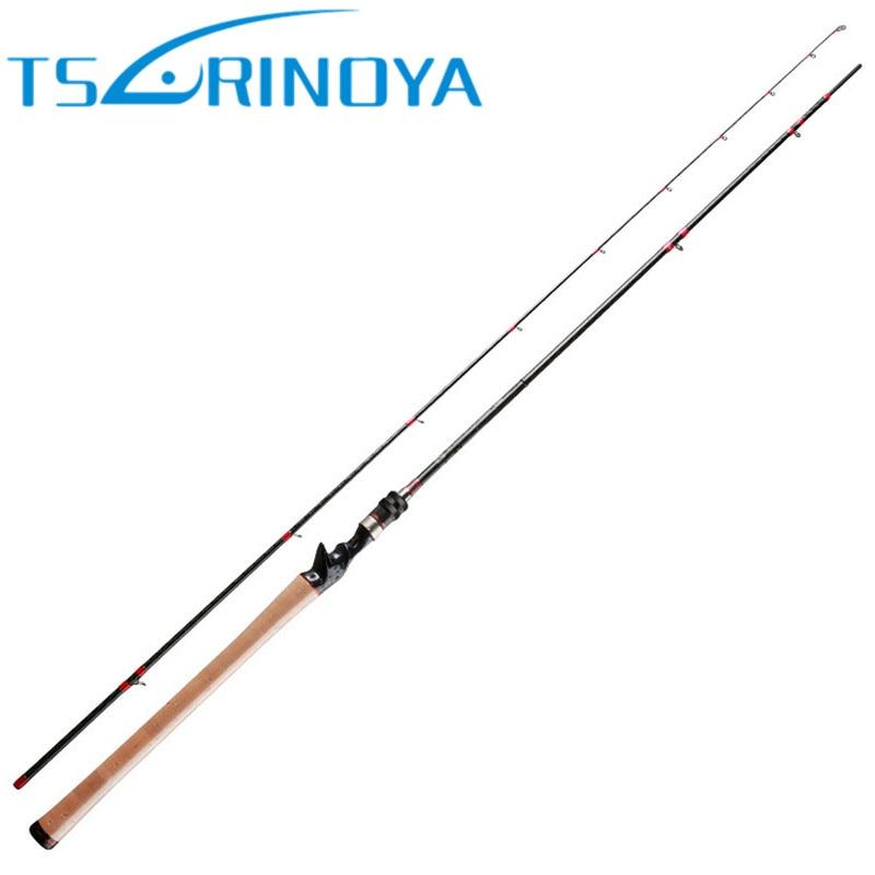 TSURINOYA, caña de pescar de fundición de carbono de 2,28 m/6-18g/m, 40T, caña de pescar de fundición larga, accesorios de señuelo de bajo, caña de pescar, aparejos de Pesca