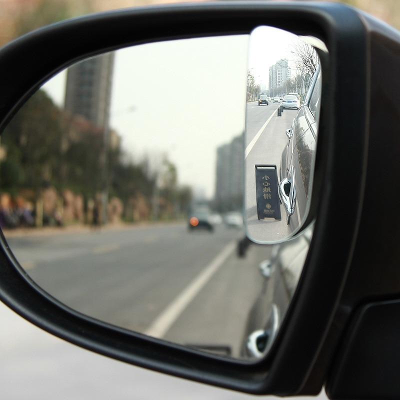CHIZIYO 1 par Car Wide Angle Espelho Retrovisor 360 Graus de Rotação Auto Blind Spot Espelho Retrovisor