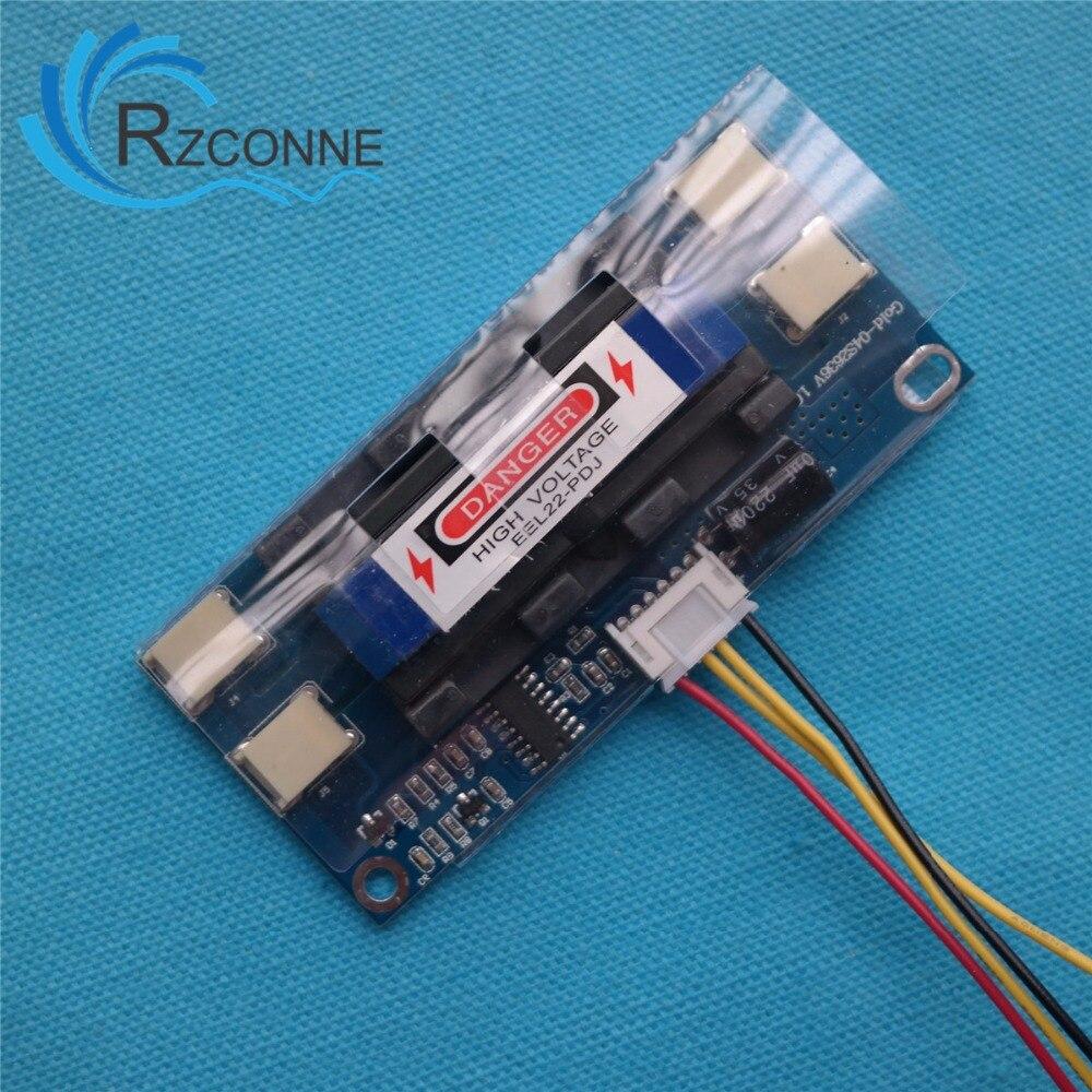 """Universal inversor CCFL 4 lámparas 10-30V para 15-24 """"Widescreen Monitor LCD para ordenador portátil pequeño tamaño puede reemplazo"""
