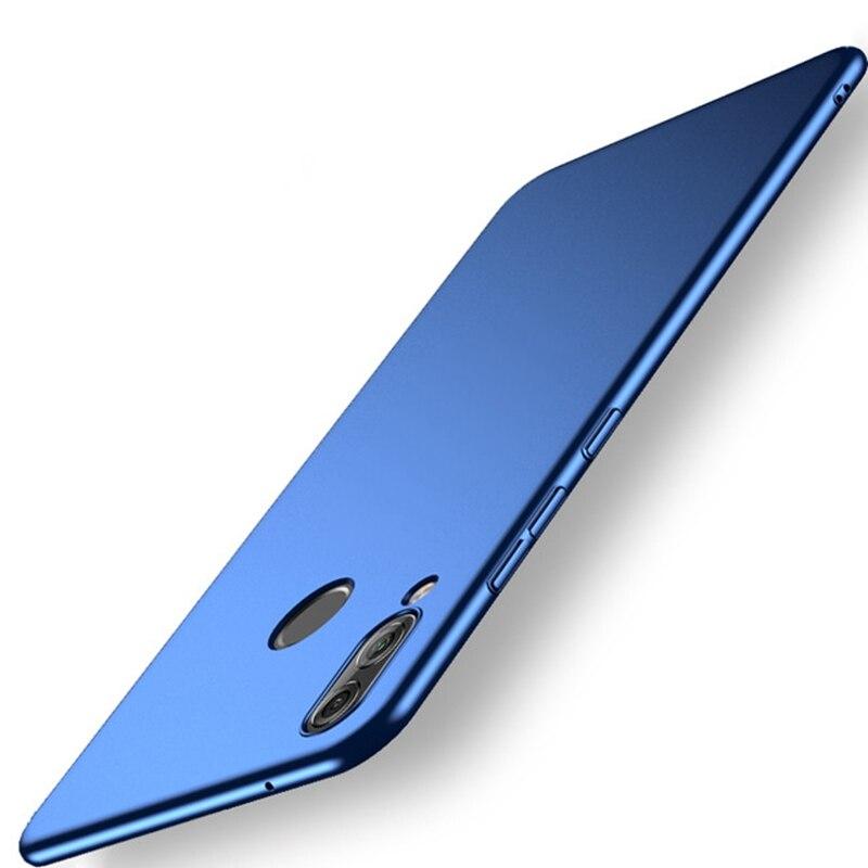 Nuevo para Samsung Galaxy M10 M 10 Funda delgada de lujo de plástico duro Funda para Samsung Galaxy M20 M 20 cubierta protectora completa de choque Funda