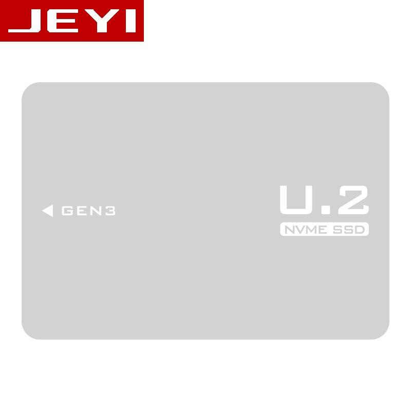 JEYI U2BOX U2 תיבת M.2 כדי U.2 SFF-8639 מתאם PCIe 2.5 U.2 SSD PCI-E X4 X16 intel PCIe3.0 PCI-Express M-KEY B-מפתח כרטיס AHCI AI