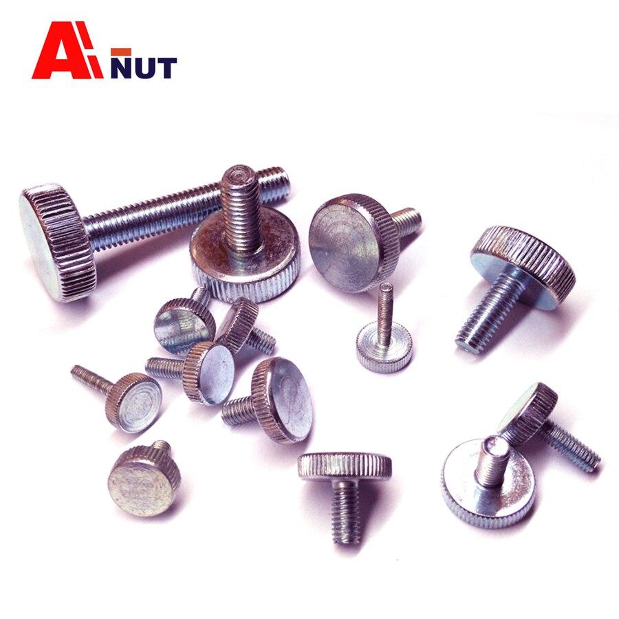 m3 Knurled screw , 6mm-20mm , Knurled screw m3 thumb screw , m3 knurled bolt fasteners