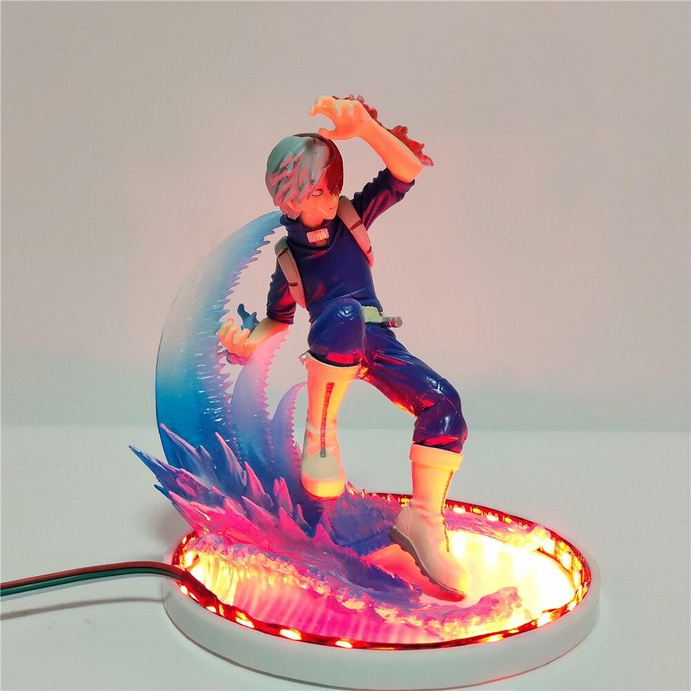 شخصية My Hero Academia ، تمثال Todoroki Shoto Battle ، نموذج مصغر من مادة PVC ، Boku No Hero Academia Shouto Todoroki