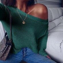 3 couleurs femmes hors épaule à manches longues décontracté surdimensionné manches chauve-souris lâche pull pull en tricot pull tops tuniques femme