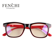 FENCHI Women Optical Glasses Spectacle Frame Eyeglasses Anti-fatigue Computer Eyewear Goggles Anti Blue ray Radiation protection