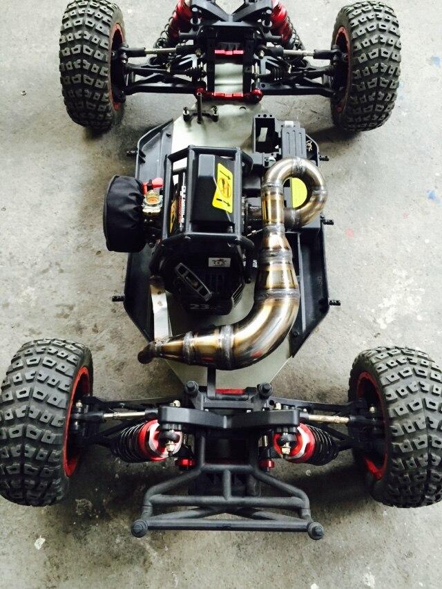 Выхлопная труба для автомобиля, 1/5 rc, газовая сталь, ручная работа, для Losi Desert bugги XL DBXL RCMK XCR rc, автомобиль в комплект не входит
