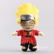 Anime NARUTOUzumaki Naruto juguete de felpa muñecas de peluche suave regalo para niños 22 cm