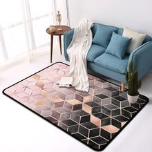 New Modern Soft Carpets For Living Room Bedroom Rugs Metal Style Area Rug Home Carpet Floor Door Mat Decoartive tapete parlor
