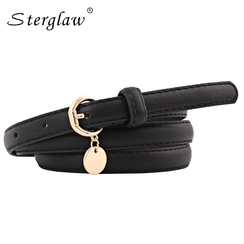 ¡Novedad! cinturón de estudiante para vestidos, cinturón de modelado 2020, cinturones y correas blancas informales para mujer, Cinturón fino para mujer N118