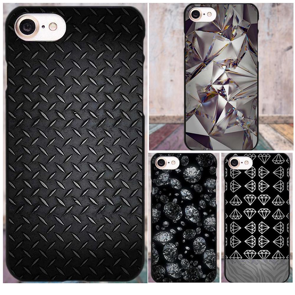 Soft Cell Phone Black Diamond Design For HTC Desire 530 626 628 630 816 820 One A9 M7 M8 M9 M10 E9 Plus For Moto G G2 G3
