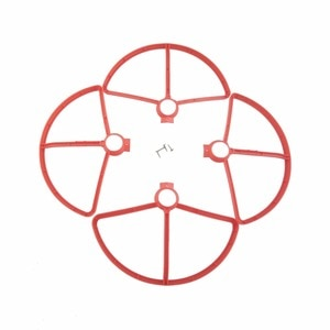BLLRC for 4pcs MJX B5W F20 BUgs 5W four-axis aircraft paddle drone red protective cover spare parts