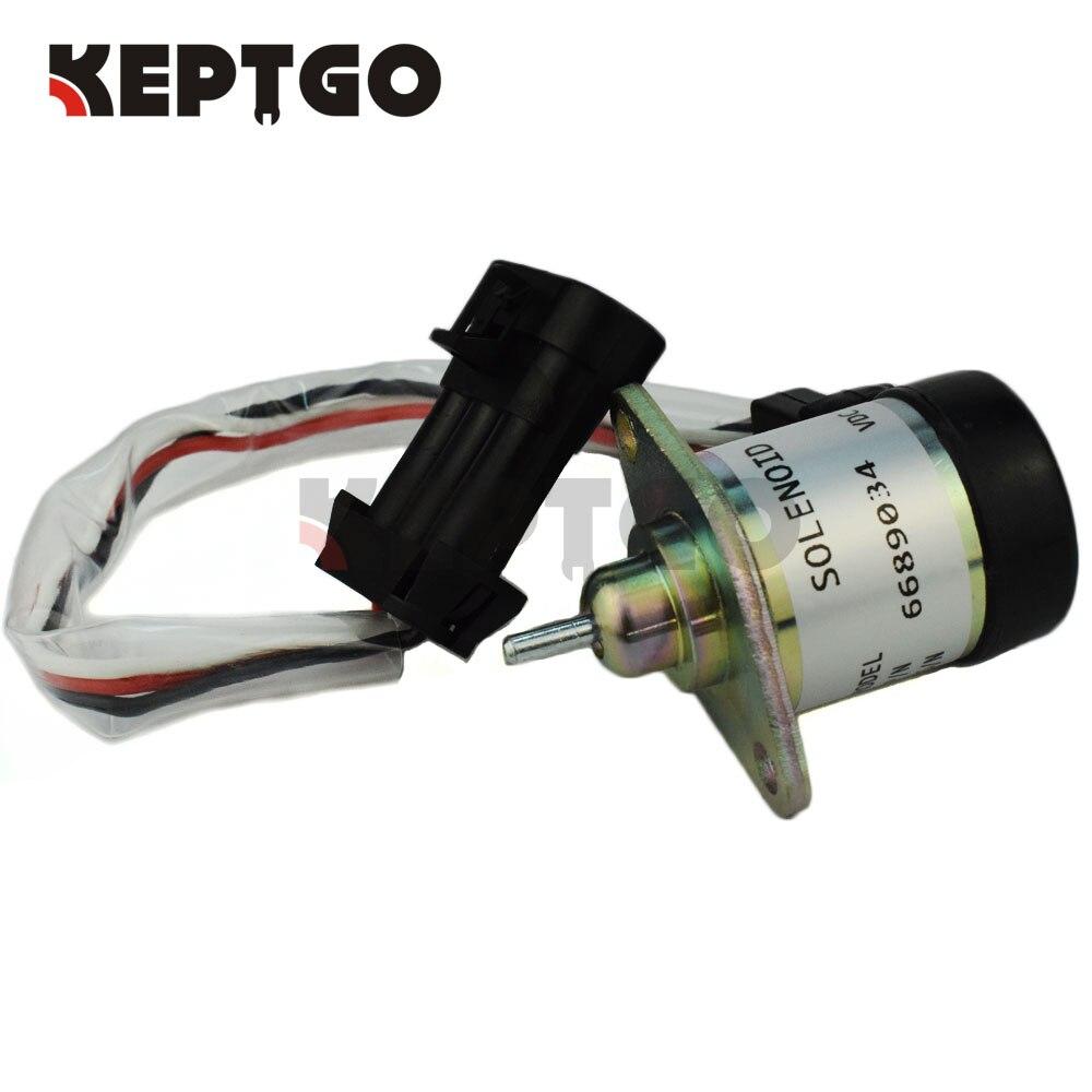 Kraftstoff Abschaltung Magnet 6689034, 1G577-60011 12v Für Bobcat A300 S220 S250 S300 S330