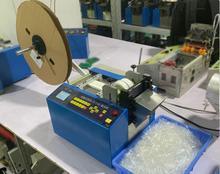 Coupeur automatique denveloppe de batterie hydraulique de tube de silicone denveloppe de téflon