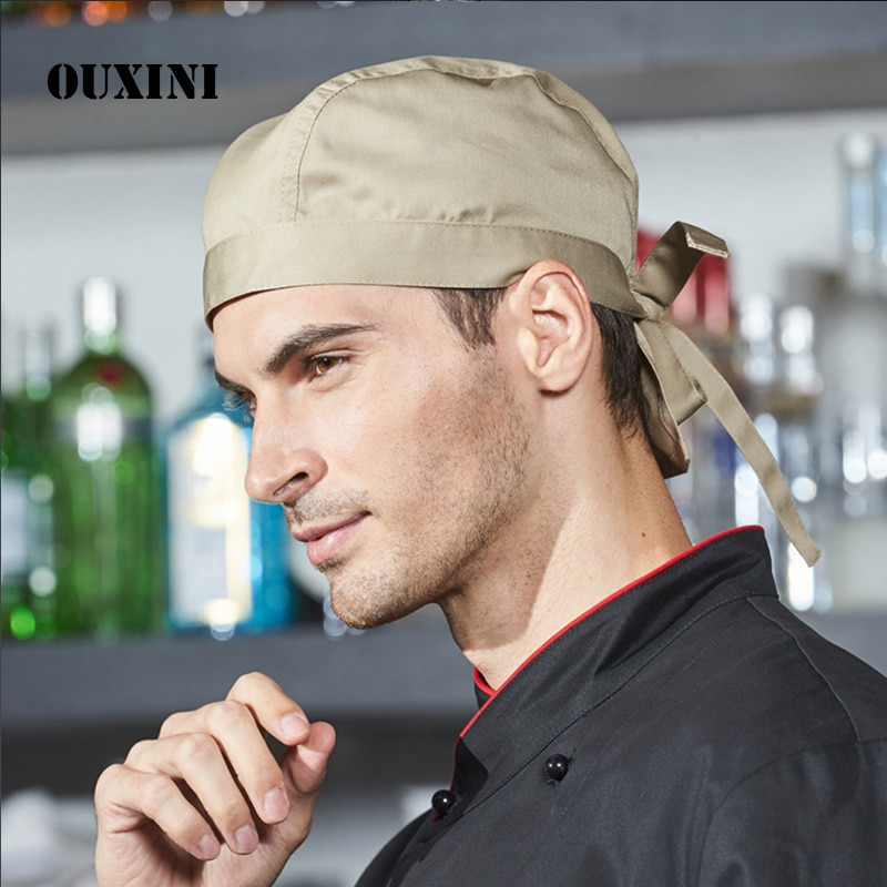 Sombrero pirata de alta calidad Chef camarero sombrero Hotel restaurante cantina panadería tapas cocina sombrero