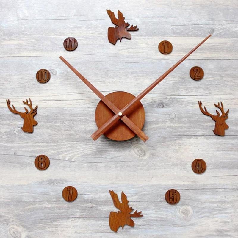 SDFC-Reloj de pared con textura 3D, material acrílico DIY, reloj de pared creativo estilo europeo, reloj de pared de salón, silencioso