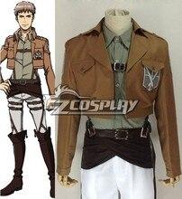 Japanese Anime Outfit Attack on Titan (Shingeki no Kyojin) Jean Kirstein Cosplay Costume E001
