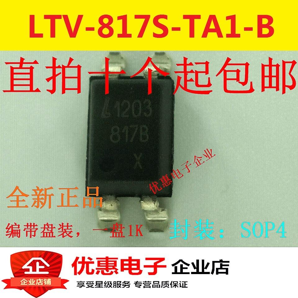 10PCS Patch New Original LTV-817S-TA1-B SOP-4 LTV817B LTV-817B