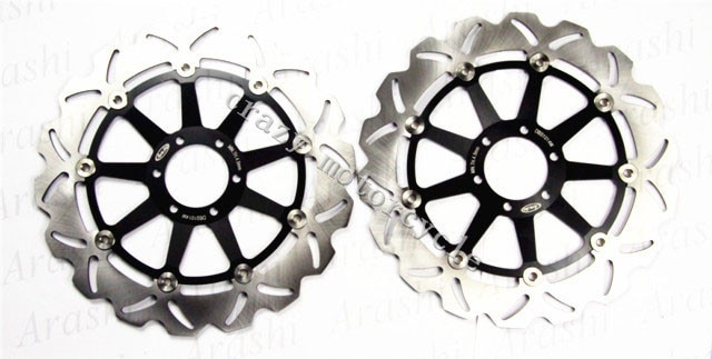 Rotor de disco de freno para moto de APRILIA DORSODURO 750 2008-2010 SHIVER GT750 09 SL SHIVER750 2007-2010 NA MANA850 2007-2009