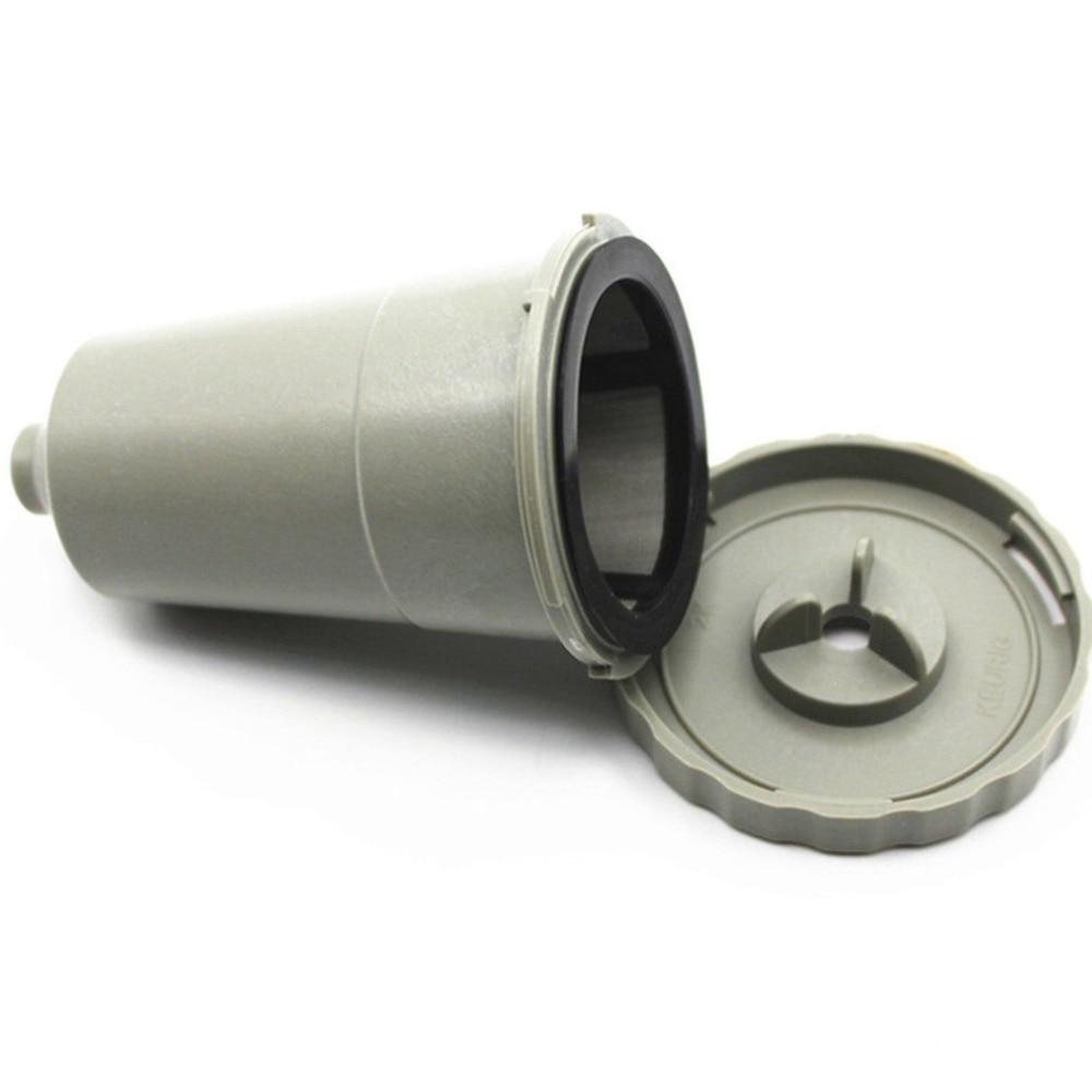 3 uds. Cápsulas de café reutilizables filtro de malla de acero inoxidable reutilizable k-cup Filtro de café para Keurig sistema de elaboración casera