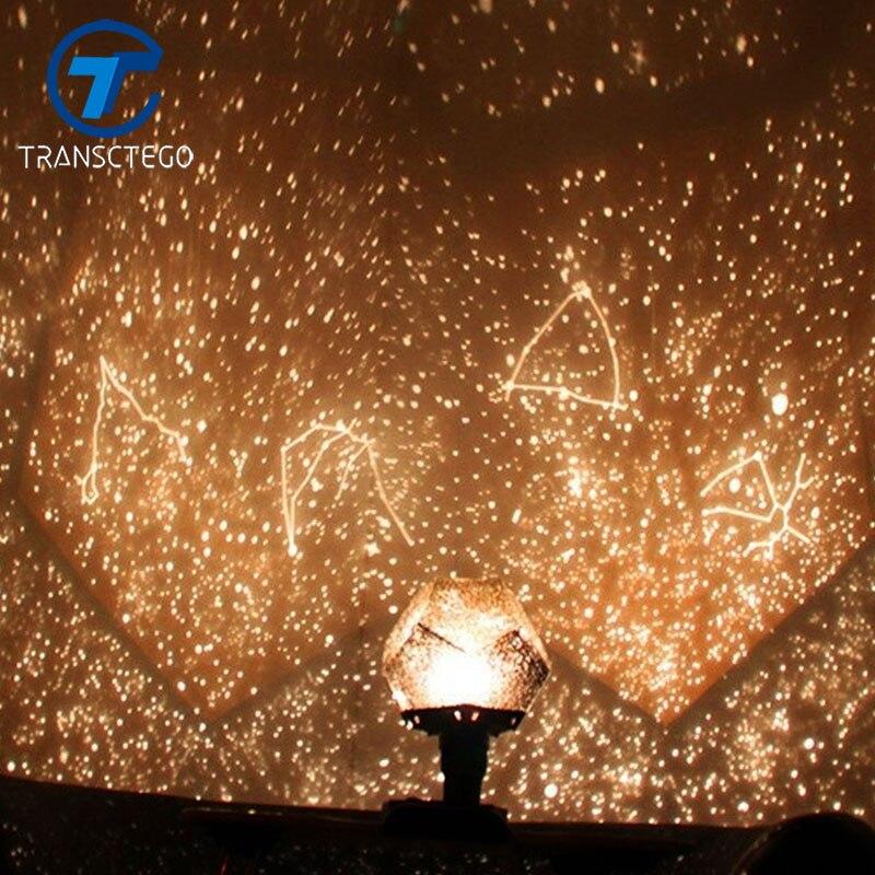 Lámpara de noche estrella proyector lámpara Estrella luz principal Vof proyector científico romántica regalo de San Valentín Luminaria nueva iluminación